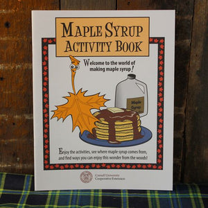 Maple Syrup Activity Book