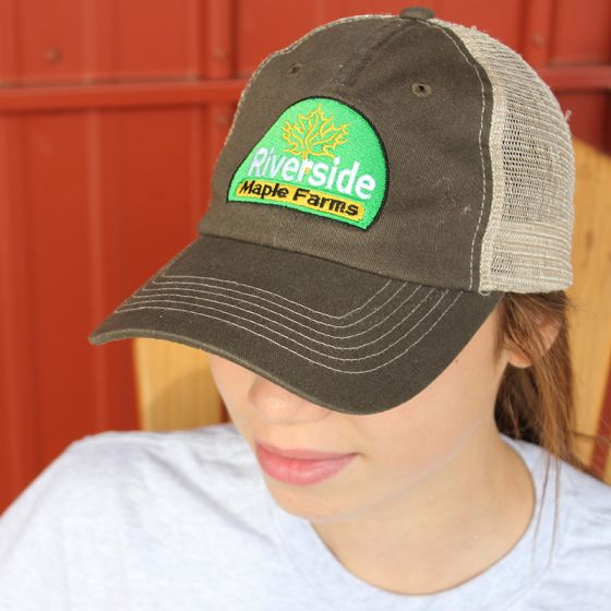 Riverside Maple Farms Logo Hat