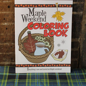 Maple Weekend Coloring Book