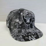 DS Vintage Oakland Raiders Apex One All Over Print Snapback Hat Size OSFA NFL