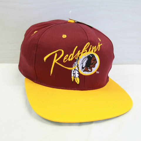 DS Vintage Washington Redskins AJD Snapback Hat Size OSFA NFL