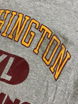 Vintage Washington Redskins Champion T-Shirt Size Large Heather Gray 80s NFL
