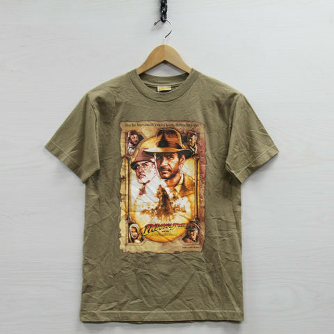 2008 Indiana Jones Last Crusade Lucas Film T-Shirt Small Movie Connoery Ford