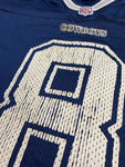 Vintage Troy Aikman #8 Dallas Cowboys Nike Team Authentic Jersey Size 52 XL NFL