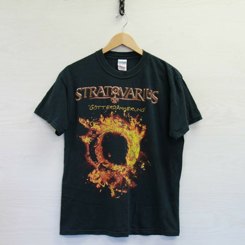 2005 Stratovarius Gotterdammerung Monster Metal Madness Tour T-Shirt Size Medium