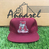 DS Vintage Alabama Crimson Roll Tide #1 Apparel NCAA Fitted Hat Size 7 1/2