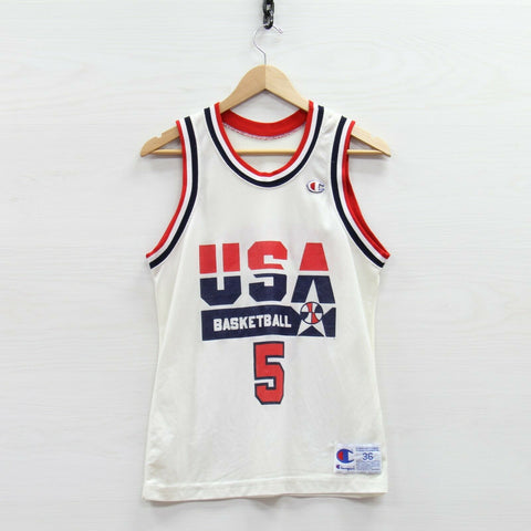 VTG Glenn Robinson #5 Team USA Champion Jersey Size 36 Small Olympic Basketball