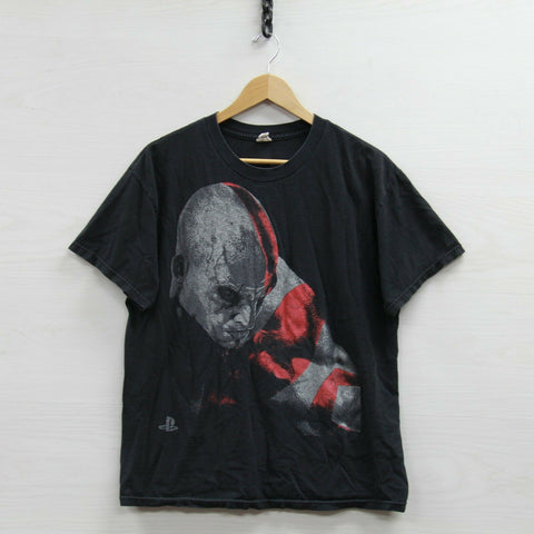 2010 God of War III T-Shirt Size Large Playstation 3 PS3 Video Game Tee