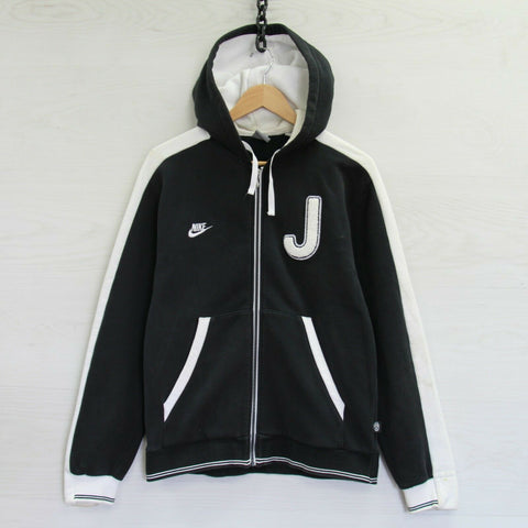 Vintage Juventus FC Nike Full Zip Sweatshirt Hoodie Size Medium Soccer Football