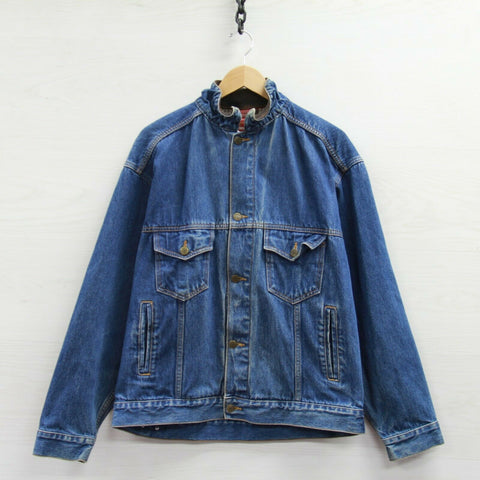 Vintage Marlboro Country Store Denim Jean Jacket Size Large
