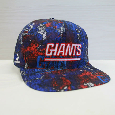 DS Vintage New York NY Giants Apex One All Over Print Snapback Hat Size OSFA NFL