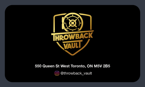 Throwback Vault E-Gift Card