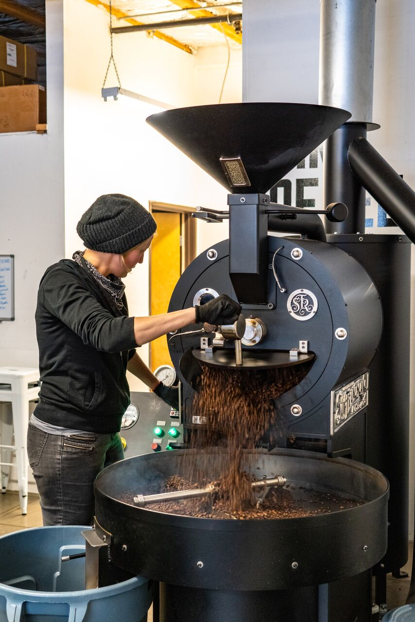 Meet Our Production Roaster Emily Bax