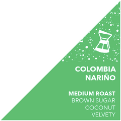 Colombia Nariño - DRINK COFFEE DO STUFF - Lake Tahoe Specialty Coffee Roaster