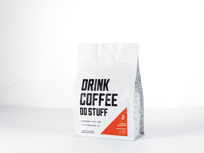 DRINK COFFEE DO STUFF - Rwanda Nyampinga, 100% Women's Produced