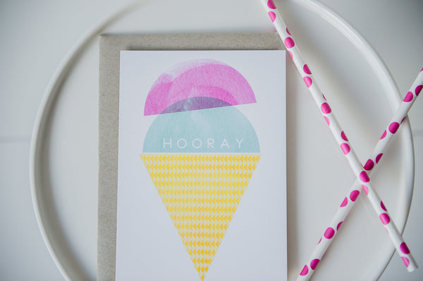 ice cream party invitations Australia