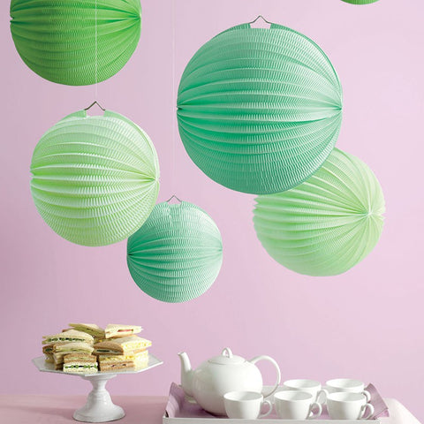 Martha Stewart Green Accordion Lanterns Australia