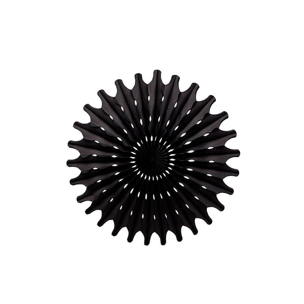 black paper fan decoration party supplies Australia