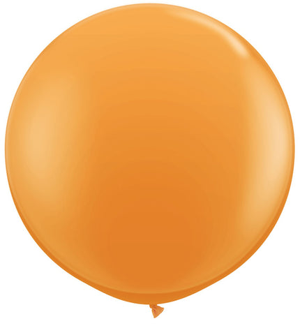 giant round orange jumbo balloons Australia