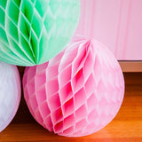 Light Pink Honeycomb Ball Australia
