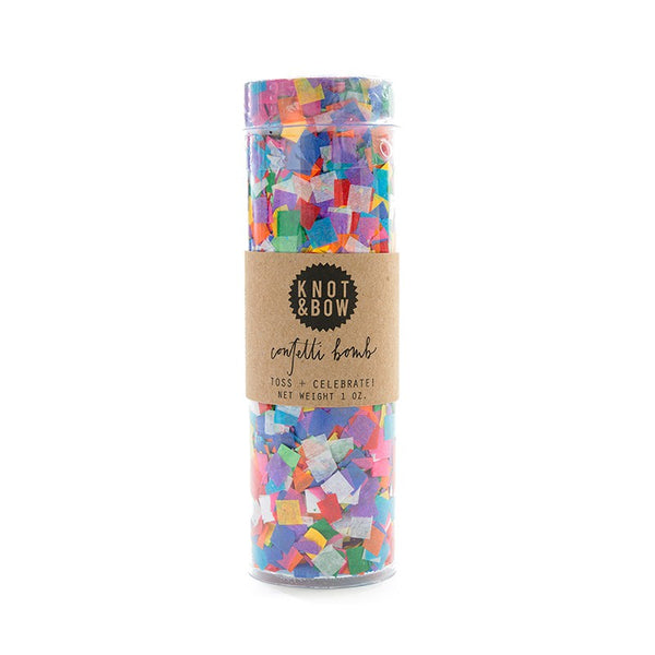 Knot and Bow Tiny Rainbow Confetti Bomb Australia