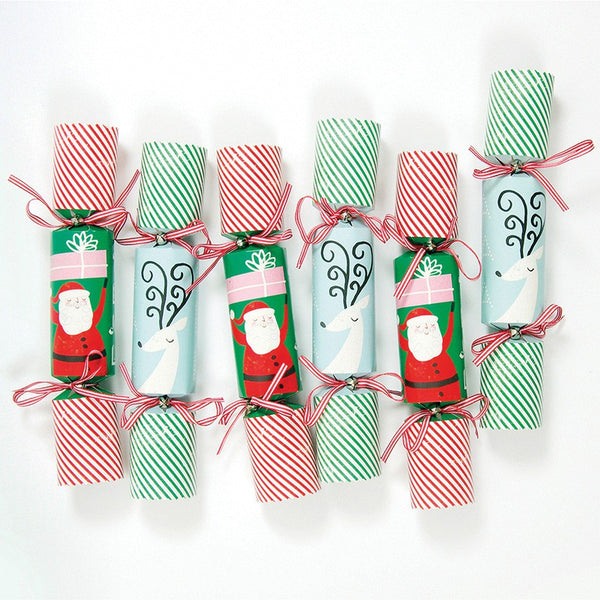 Meri Meri Jingle All The Way Large Christmas Crackers Australia