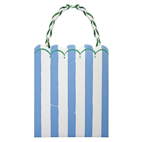 Meri Meri Toot Sweet Blue Stripe Party Bags Australia