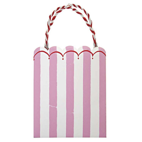 Meri Meri Toot Sweet Pink Stripe Party Bags Australia