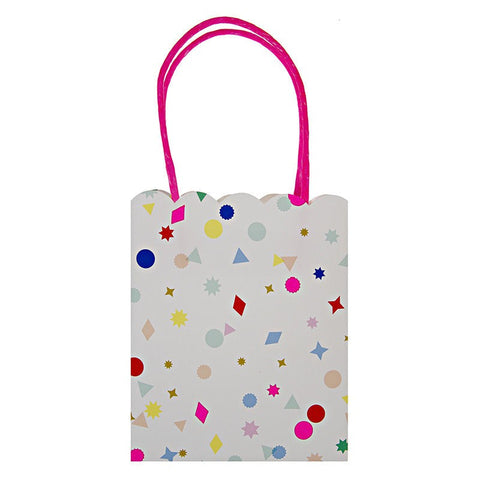Meri Meri Toot Sweet Confetti Charms Pattern Party Bags Australia