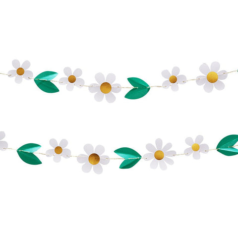 Meri Meri All Wrapped Up Daisy Mini Garland Australia