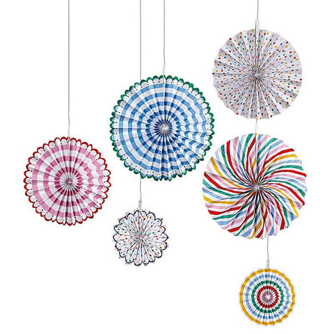 Meri Meri Toot Sweet Pinwheel Decorations party supplies Australia