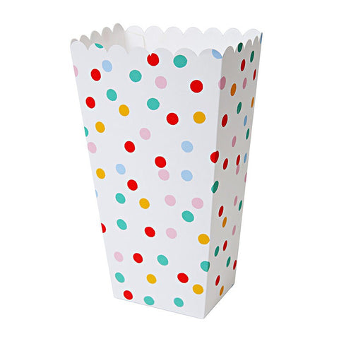 Meri Meri Toot Sweet Spotty Popcorn Treat Boxes