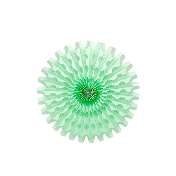mint paper fan party supplies Australia