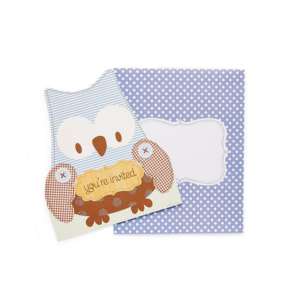 Owl Birthday Invitation Kit Australia