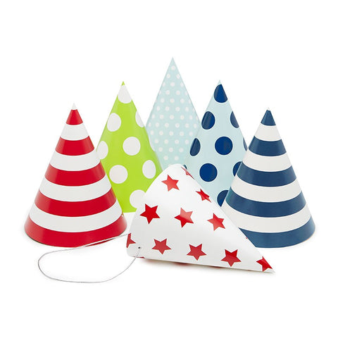 Paper Eskimo Blue Style Party Hats Australia