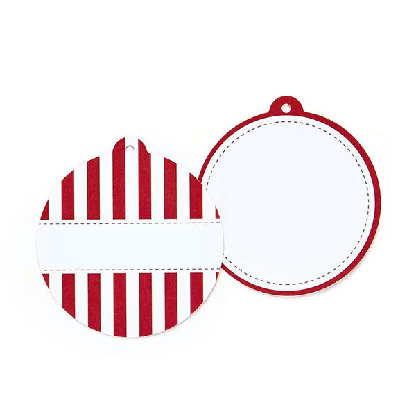 Paper Eskimo Red Candy Cane Styling Tags Australia