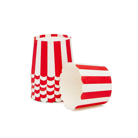 Paper Eskimo Red Stripe Baking Cups Australia