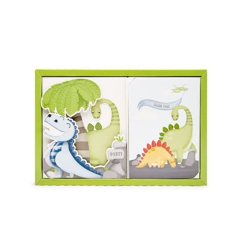Paper Eskimo Big Foot Dinosaur Poppit Birthday Party Invitations Australia