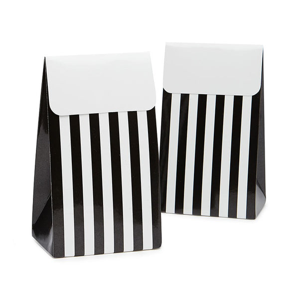 Sambellina Black & White Stripe Treat Boxes Australia