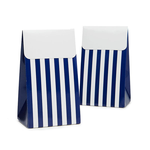 Sambellina Navy Stripe Treat Boxes Australia