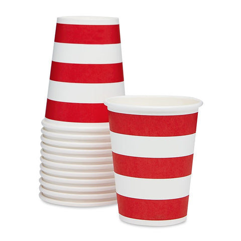 Sambellina Red Candy Stripe Cups Australia
