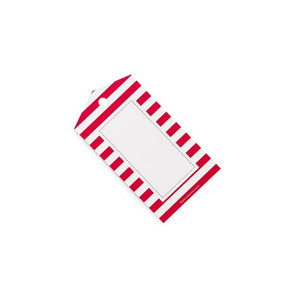 Sambellina Red Candy Stripe Gift Tags Australia