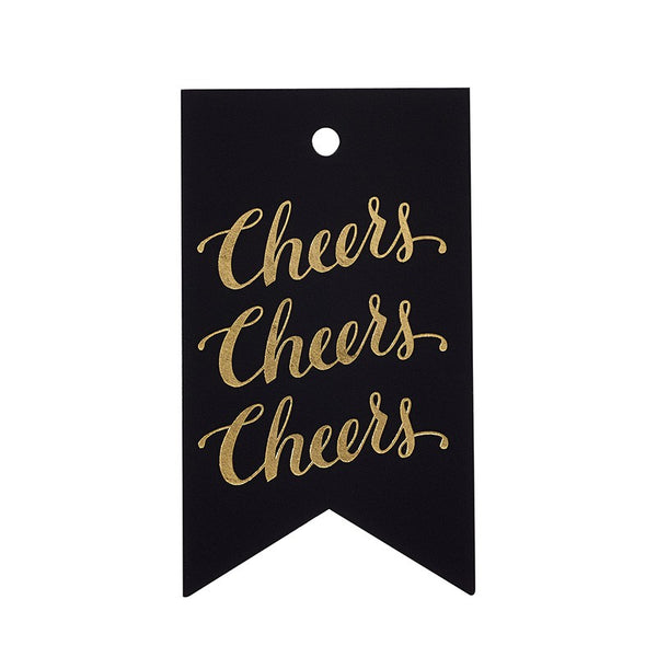 Sugar Paper Calligraphy Cheers Gift Tag Australia