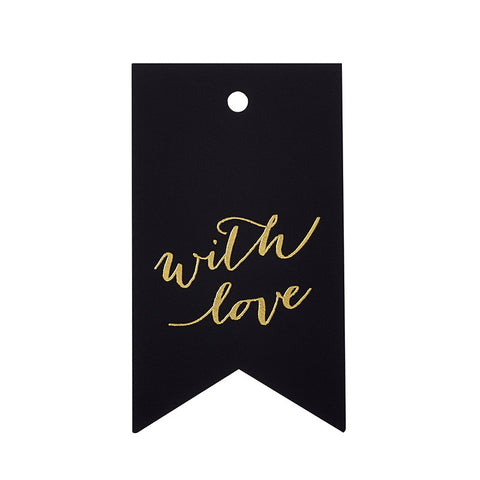 Sugar Paper Calligraphy With Love Gift Tag Australia
