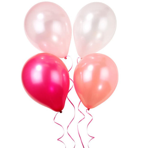 Pink n Mix Pearlescent Balloons Australia