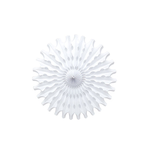 white paper fan decoration party supplies Australia