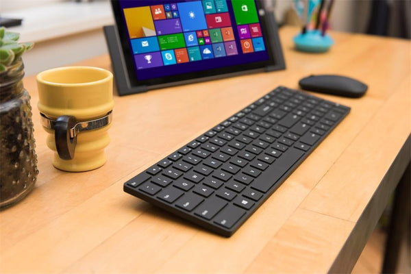 Microsoft 7N9-00028 Designer Bluetooth Desktop Keyboard and Mouse Combo | BlueTrack Technology