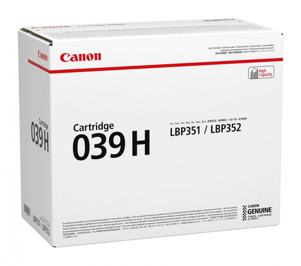 CANON #CART039II HY BLACK TONER UP TO 25,000 PAGES