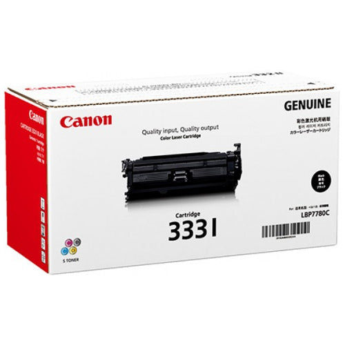 CANON #CART333I HY BLACK TONER UP TO 17,000 PAGES