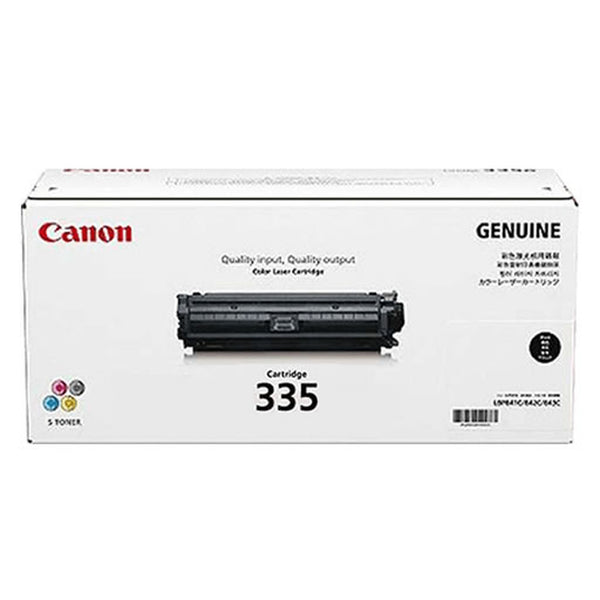 CANON #CART335B BLACK TONER UP TO 6,400 PAGES